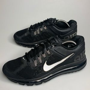 Nike Air Max+ 2015 Black 3M Running Shoes Sneakers